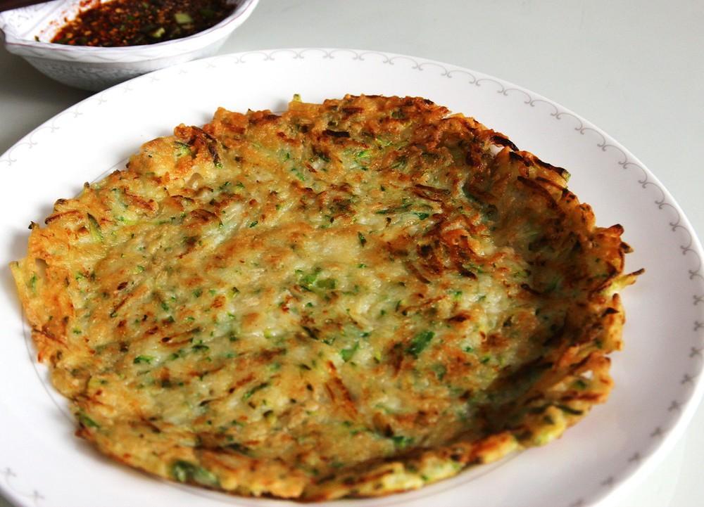 pancake hải sản hàn quốc